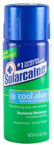 Solarcaine® Cool Aloe Burn Relief Spray 4.5 oz