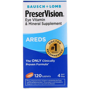 PreserVision AREDS Formula Tablets