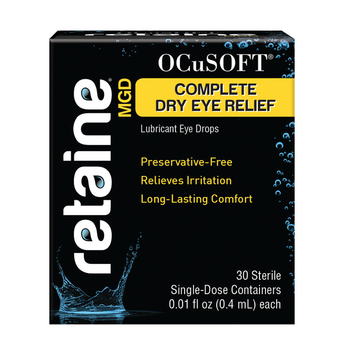 Ocusoft® Retaine® MGD Ophthalmic Emulsion Eye Drops
