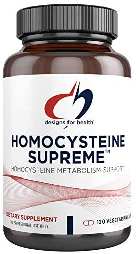 Designs for Health® Homocysteine Supreme Capsules 120ct.