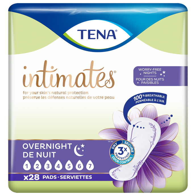 TENA® Intimates Maximum Absorbency Overnight Pads 28ct.