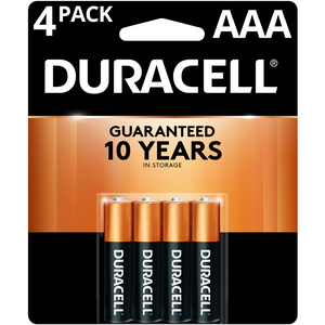 Duracell® AAA CopperTop Alkaline Batteries