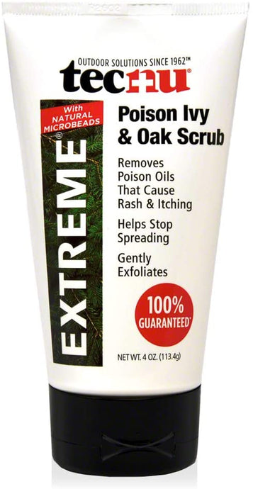 Tecnu® Extreme Poison Ivy and Oak Scrub