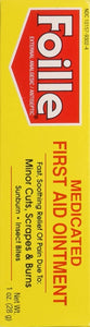 Foille Medicated First Aid Ointment 1oz.