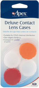 Apex® Deluxe Contact Lens Cases 2ct.