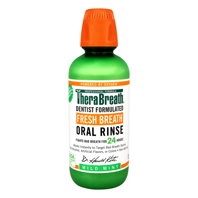TheraBreath® Fresh Breath Mild Mint Oral Rinse 16fl. oz.