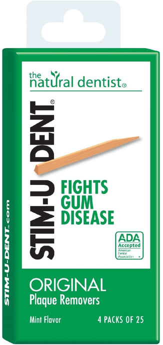 The Natural Dentist STIM-U-DENT® Original Plaque Removers 100ct