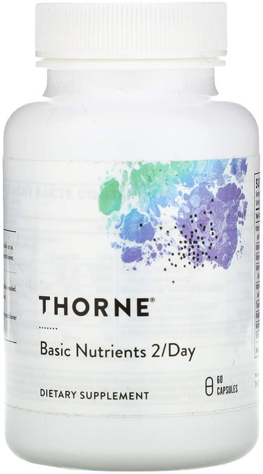 Thorne® Basic Nutrients 2/Day Capsules 60ct.