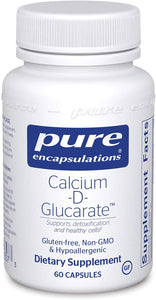 Pure Encapsulations® Calcium-D-Glucarate™ Capsules 60ct.