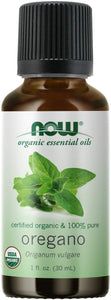 NOW® Oregano Oil Organic 1fl. oz.