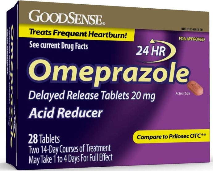 GoodSense® Omeprazole Delayed Release Acid Reducer Tablets
