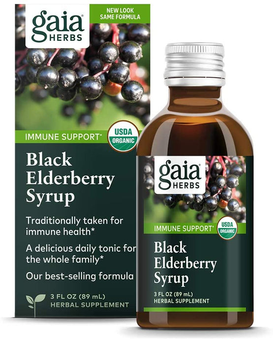 Gaia® Herbs Black Elderberry Syrup