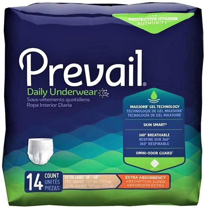 Prevail® Daily Underwear Extra Absorbency Extra Large 14ct.