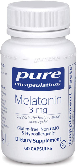 Pure Encapsulations® Melatonin 3mg Capsules 60ct.