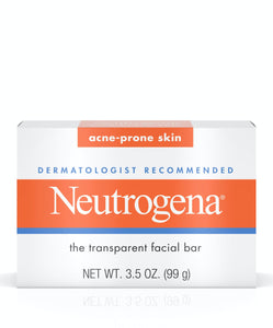 Neutrogena® Glycerin Soap Bar for Acne-Prone Skin 3.5oz