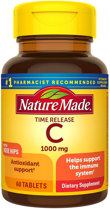Nature Made® Vitamin C 1000mg Time Release Tablets 60ct.