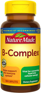 Nature Made® B-Complex with Vitamin C Caplets 100ct.
