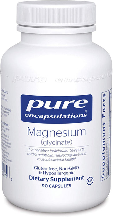 Pure Encapsulations® Magnesium (glycinate) 120mg Capsules