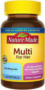 Nature Made® Women's Multi Softgels 60ct.