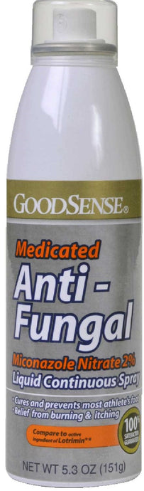 GoodSense® Athlete's Foot Spray Miconazole Nitrate 2% 5.3oz.