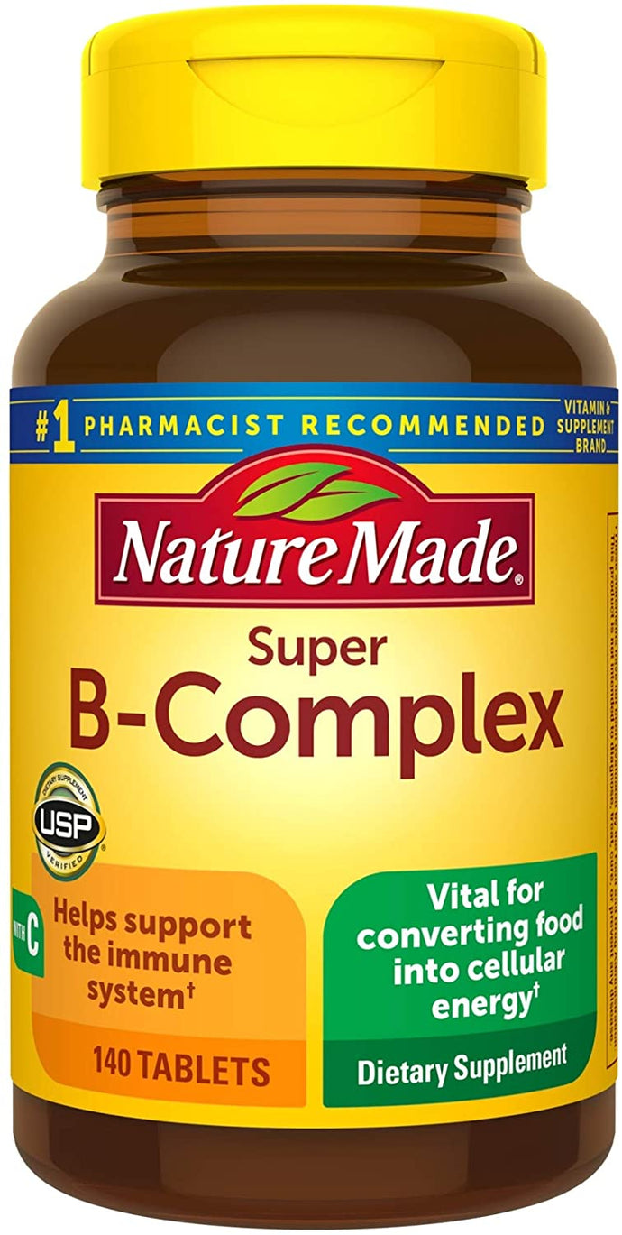 Nature Made® Super B-Complex Tablets 140ct.