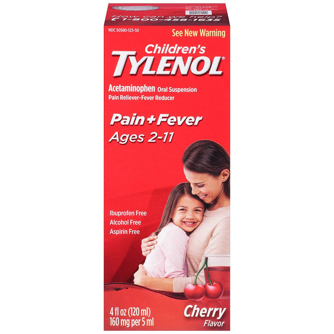 Children's Tylenol® Pain + Fever Oral Suspension Liquid