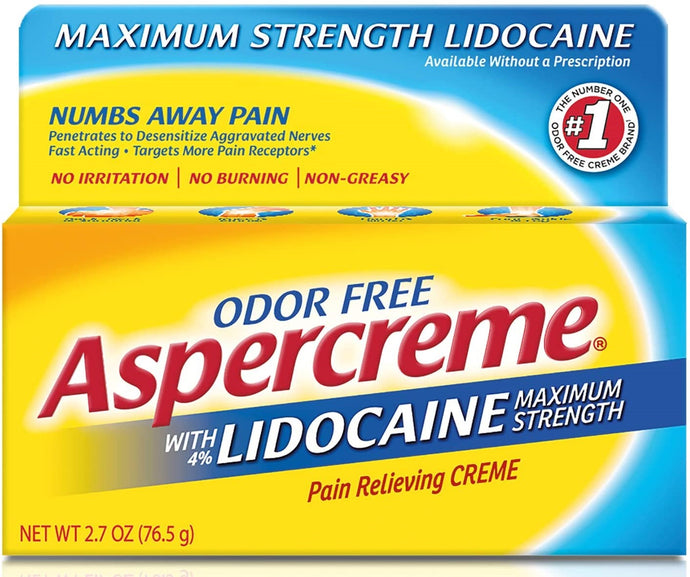 Aspercreme® Pain Relieving Creme with Lidocaine