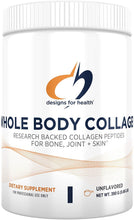 Cargar imagen en el visor de la galería, Designs For Health® Whole Body Collagen Powder 390g.