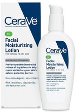 Load image into Gallery viewer, CeraVe® PM Ultra Lightweight Facial Moisturizing Lotion 3fl. oz.