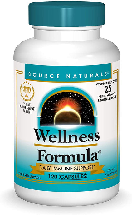 Source Naturals®  Wellness Formula® Herbal Defense Capsules 120ct.