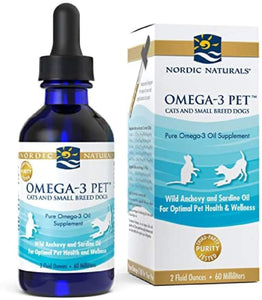 Nordic Naturals® Omega-3 for Small Cats & Dogs 2oz.