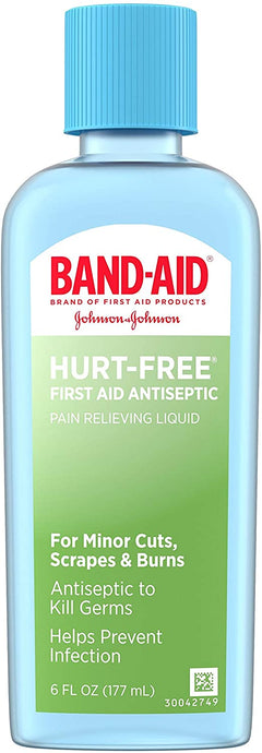 BAND-AID® Brand HURT-FREE® Antiseptic Wash 6fl. oz.
