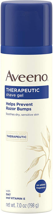 Aveeno® Therapeutic Shave Gel for Sensitive Skin 7oz.