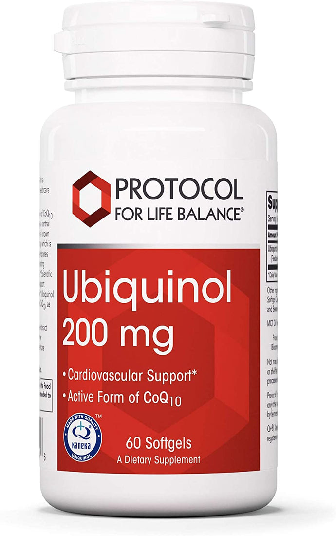 Protocol for Life Balance® Ubiquinol 100mg Softgels 60ct.