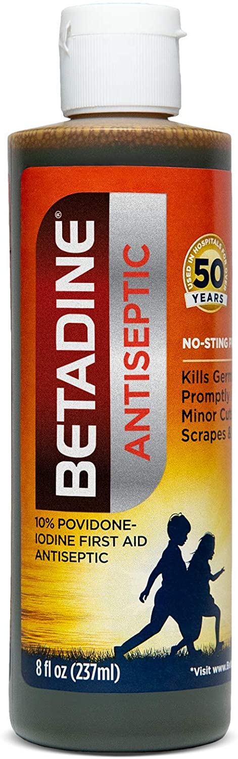 Betadine® Antiseptic First Aid Solution 8fl. oz.