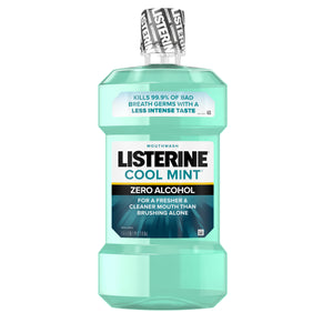 Listerine® Cool Mint® Zero Alcohol Mouthwash 1.0L