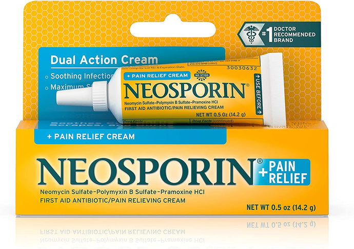 Neosporin® + Pain Relief Cream 0.5oz.