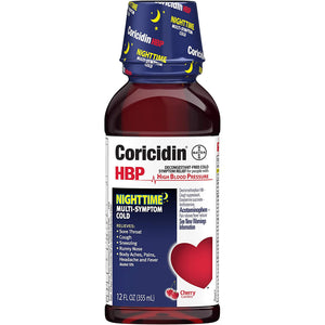 Coricidin® HBP Nighttime Multi-Symptom Cold Relief Liquid