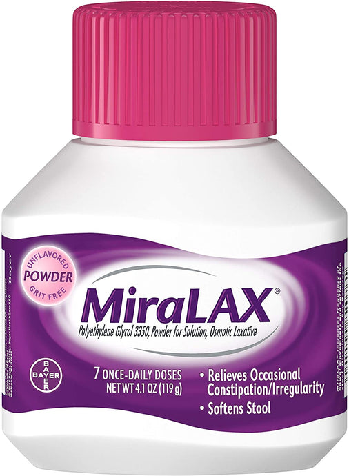 MiraLAX® Osmotic Laxative Powder
