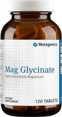 Metagenics® Mag Glycinate Tablets 120ct.