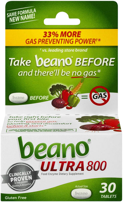 Beano® Ultra 800 Tablets 30ct.