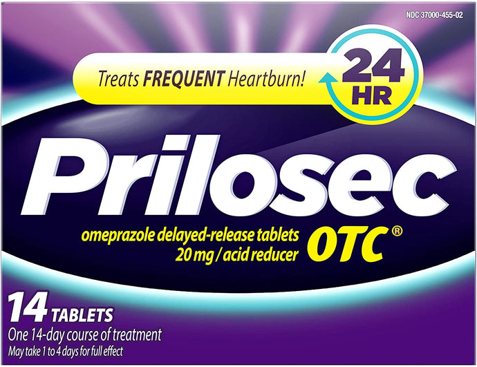 Prilosec OTC® Delayed Release Acid Reducer Tablets