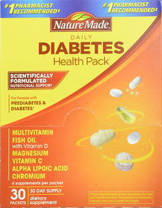 Nature Made® Daily Diabetes Health Packets 30ct.