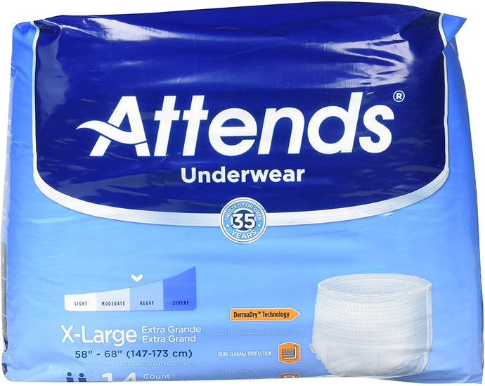 Attends® Underwear Extra Absorbency X-Large 14ct.