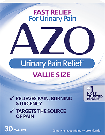 AZO Urinary Pain Relief® Tables 30ct.