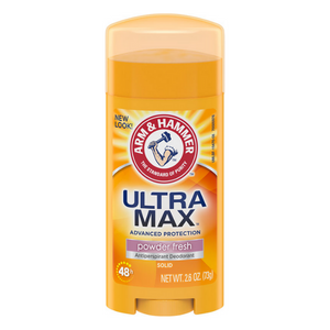 Arm & Hammer® ULTRAMAX® Solid Antiperspirant Deodorant, Powder Fresh