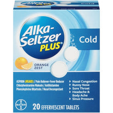Load image into Gallery viewer, Alka-Seltzer® Plus Cold Reliever Tablets