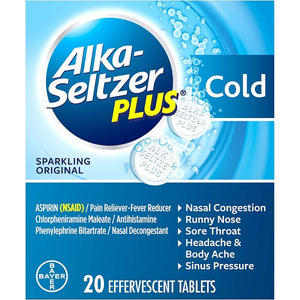 Alka-Seltzer® Plus Cold Reliever Tablets