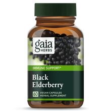 Load image into Gallery viewer, Gaia® Herbs Black Elderberry Capsules 60ct.