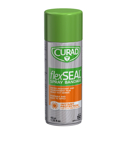 Curad® FlexSeal Spray Bandage